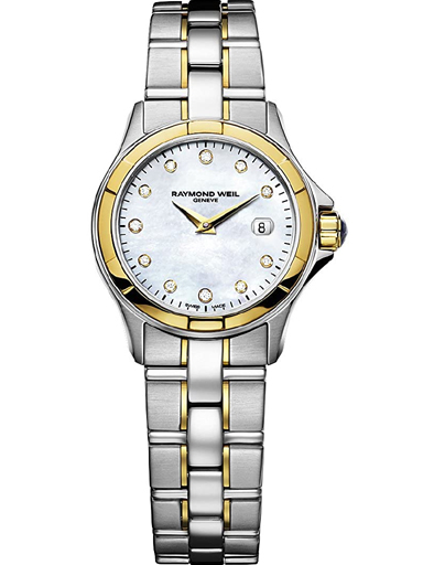 Raymond Weil Parsifal Mother of Pearl Dial Ladies Watch-9460-SG-97081